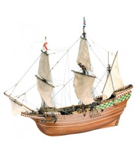Wooden Model Ship Kit: Mayflower 1/64
