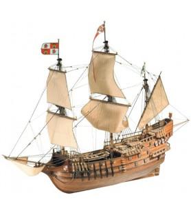 Maqueta de barco en madera: San Francisco II