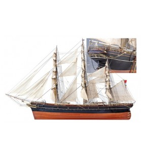 Wooden Model Ship Kit: Cutty Sark Tea Clipper 1/84