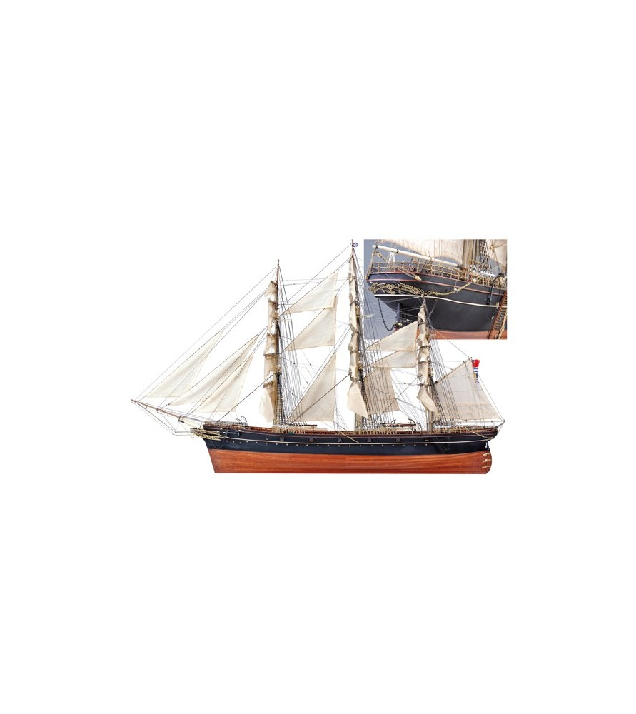 Cutty Sark Tea Clipper: Wooden Model of One of the Fastest ...