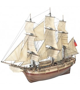 Wooden Model Ship Kit: Frigate HMS Bounty 1/48