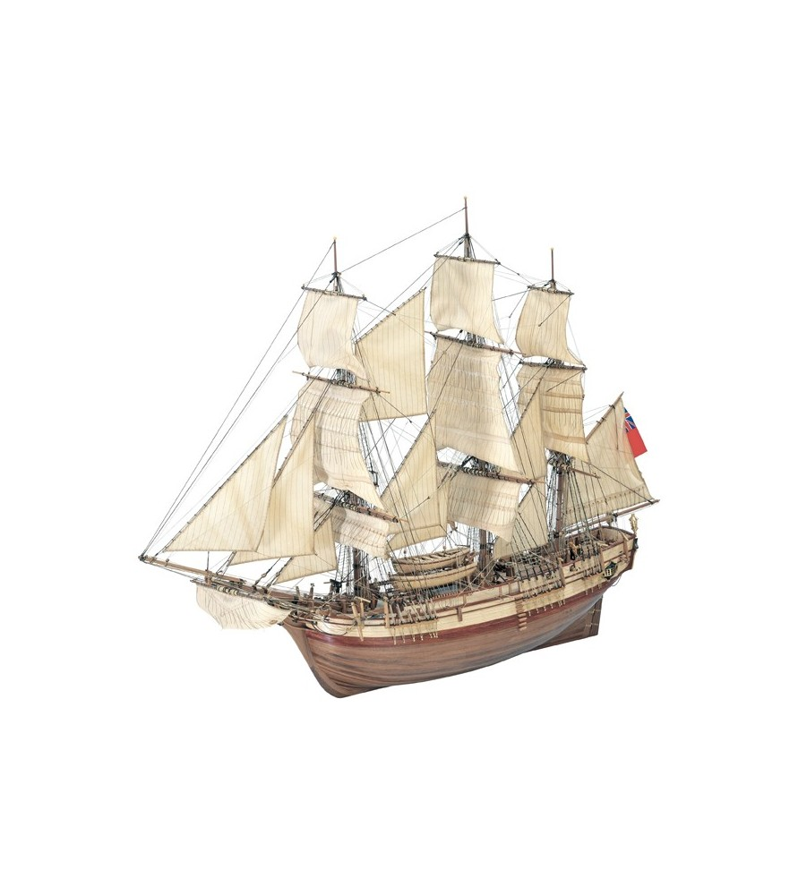 Hms Bounty Ship Wooden Model For Expert Modelers Now On Sale