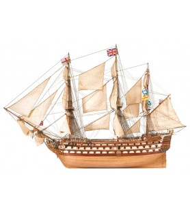 Maqueta de barco en madera: HMS Victory