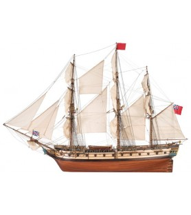 Wooden Model Ship Kit: HMS Surprise 1/48
