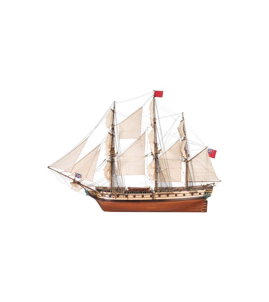 Maqueta de Barco en Madera: HMS Surprise 1/48