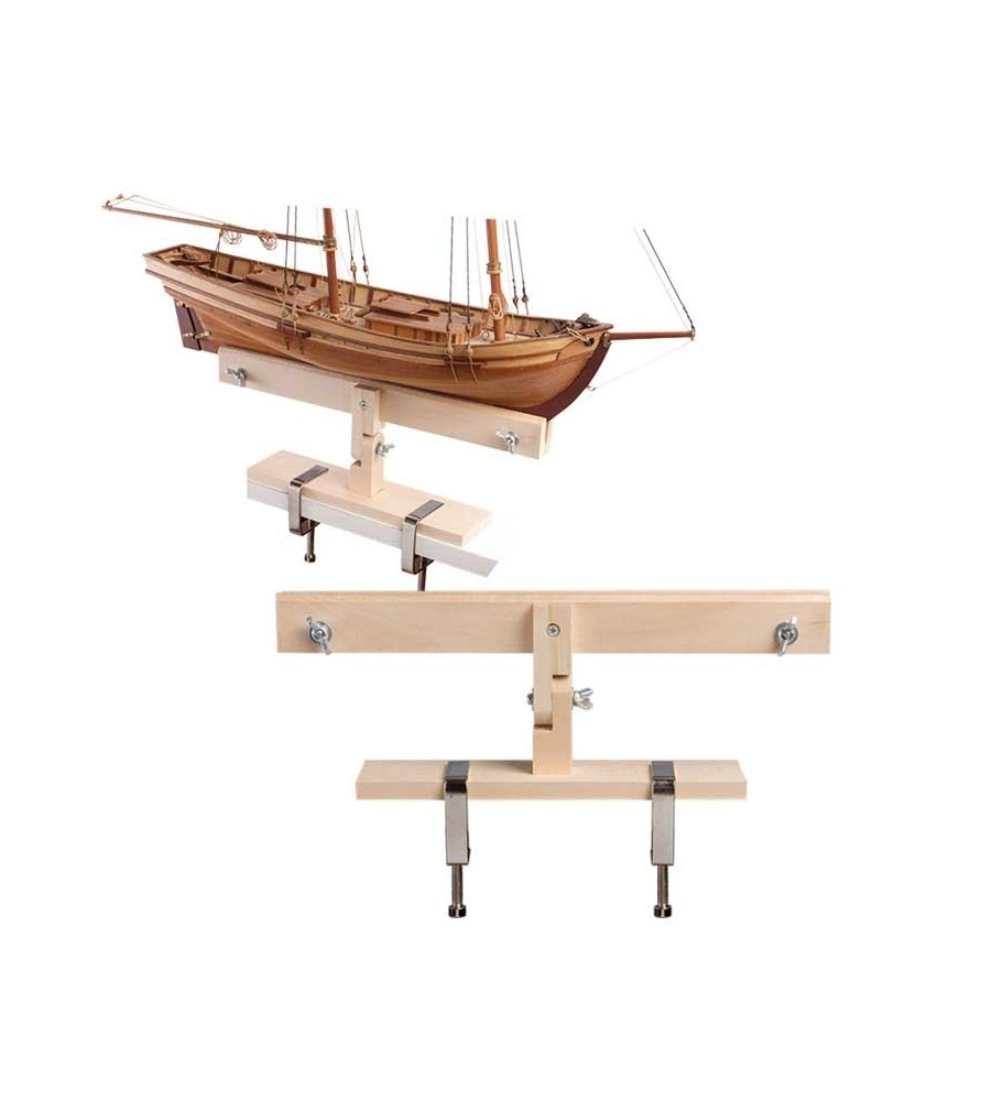 Hull Support for Planking, Painting & Building Ship Models