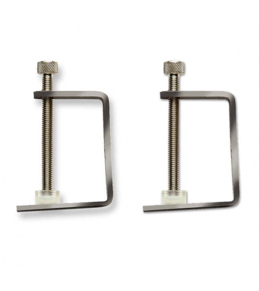 Set of 2 mini clamps