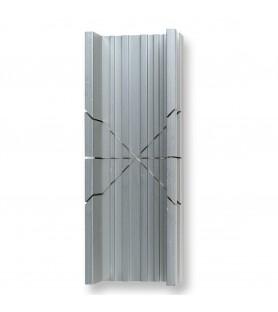 Mitre of nodized aluminum