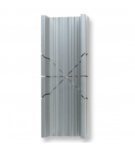 Inglete de aluminio anodizado