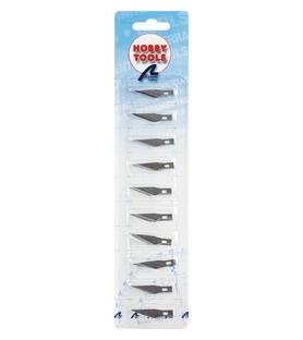10 cuchillas de recambio para el cutter Nº1