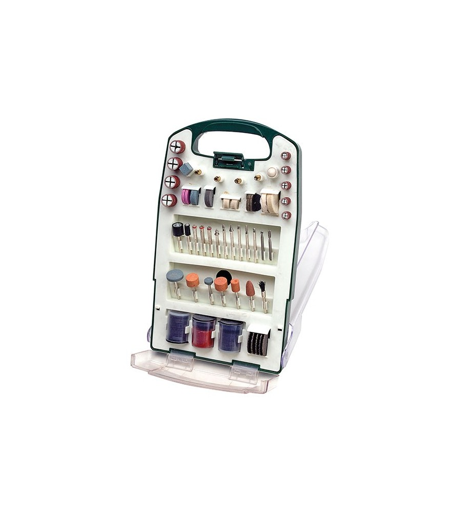 Complete tool set with 137 accessories