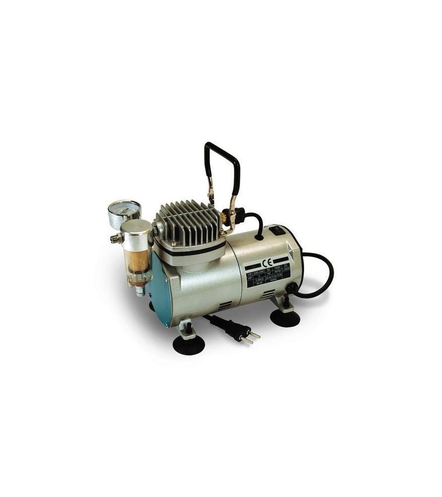 Oil-free piston compressor