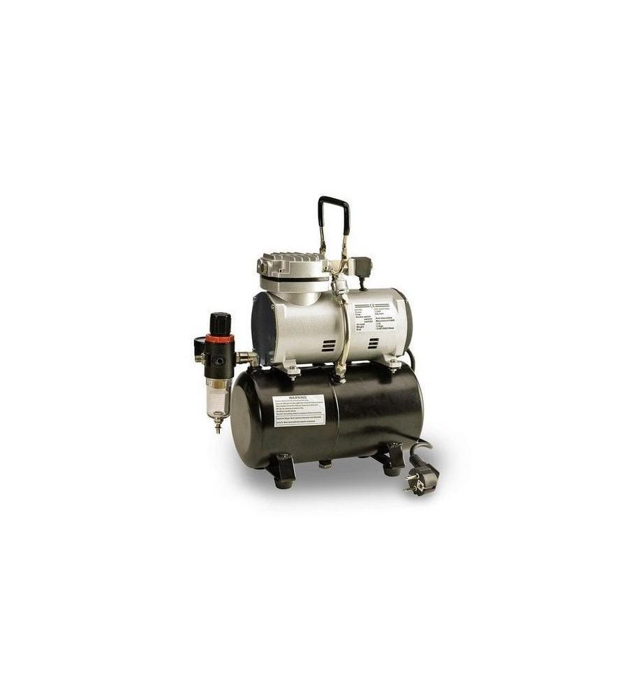 Compresor de pistón sin aceite con calderín