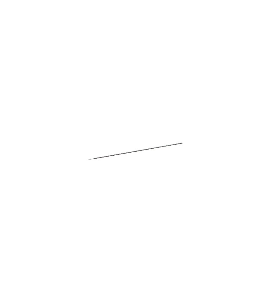 Stainless steel needle of 0.25 mm diameter