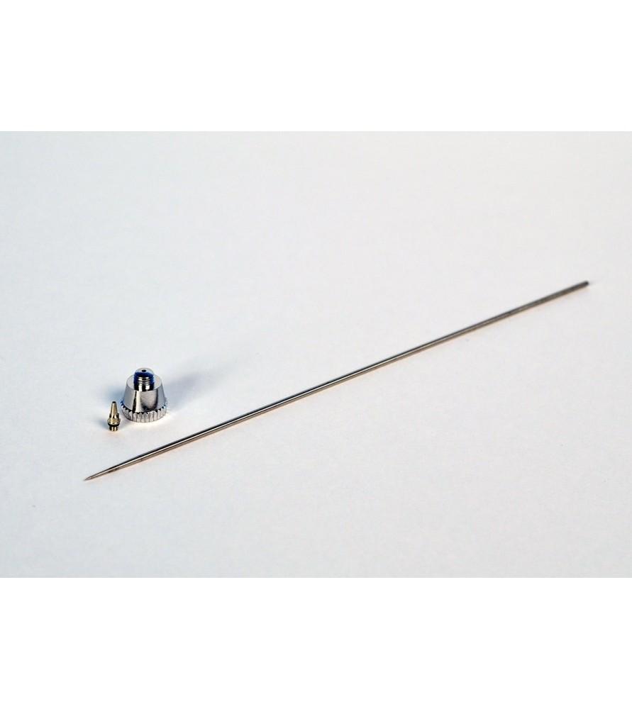 Obturador + aguja de diámetro 0,20 mm
