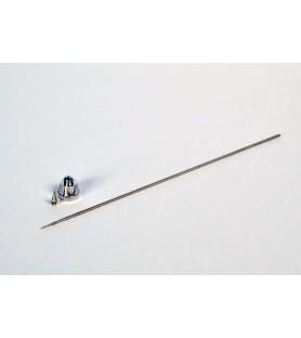 Nozzle + needle 0,50 mm diameter