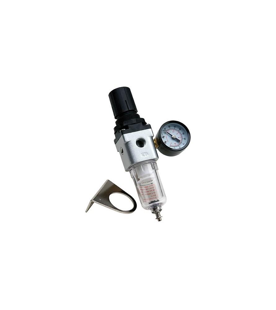 Filtro con man metro y regulador de aire para compresor - Accesorios para compresores de aire ...