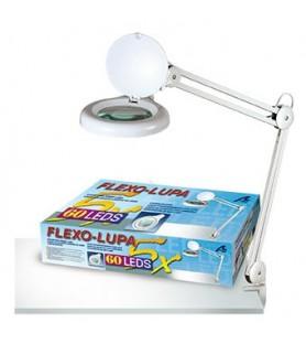 LAMPARA-LUPA 60 LED 5X