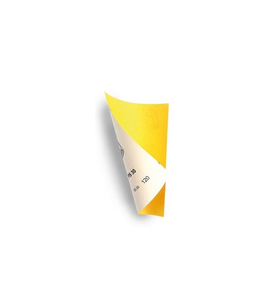 SET DE 4 PAPIERS ABRASIFS MOYENS (80, 120, 180, 240) 230x280mm