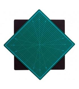 Tapete de corte giratorio de 35 x 35 cm