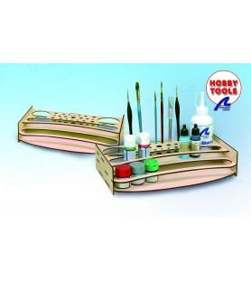 Organizador de pinturas y herramientas