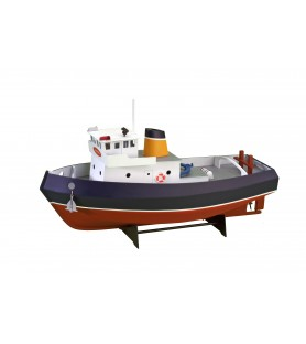 Wooden Model Ship Kit: Tug Boat Samson 1/15