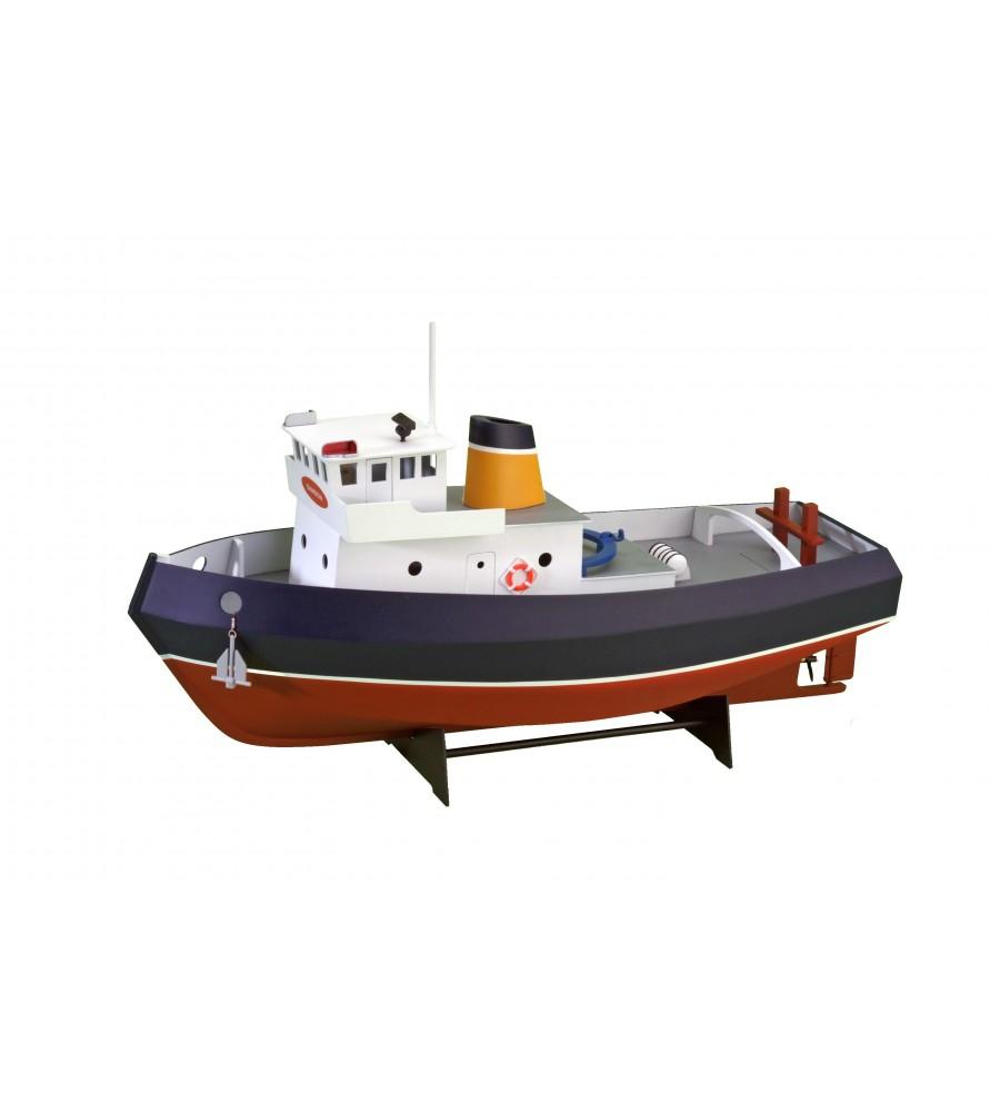 Wooden Model Ship Kit: Tug Boat Samson 1/15