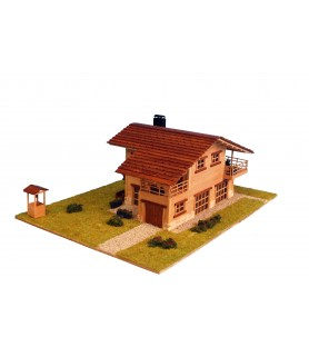 House kit: House with waterwheel