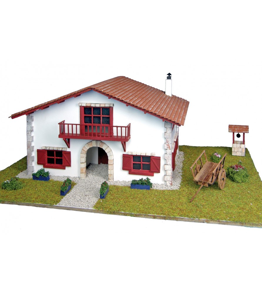 house kit of village with carriage artesanialatina