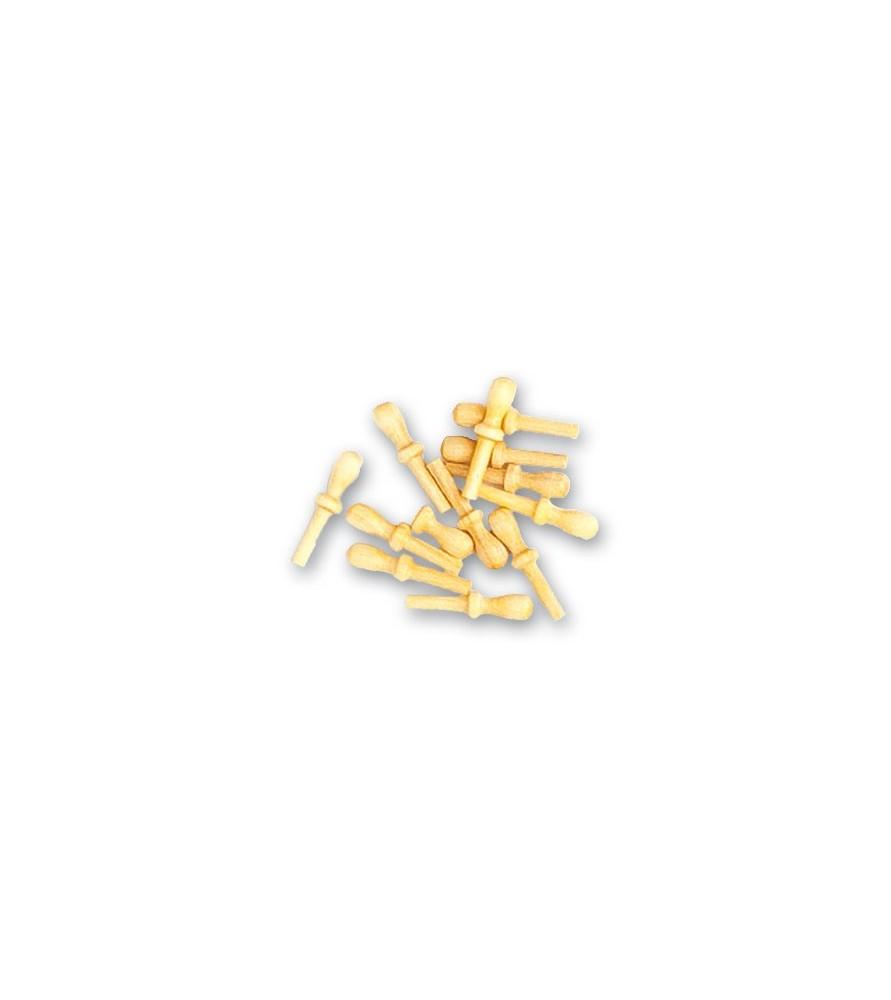 Accessoires de modélisme navale: pointes en bois 12 mm