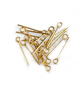 BRASS RINGBOLTS 15 mm (60 u.)