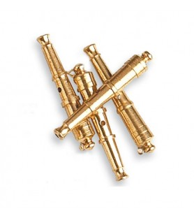 CANNONS WITH BRASS 30 mm (4 u.)