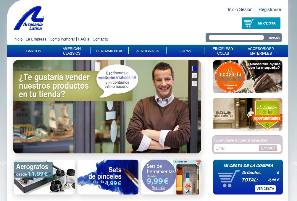 web artesania latina
