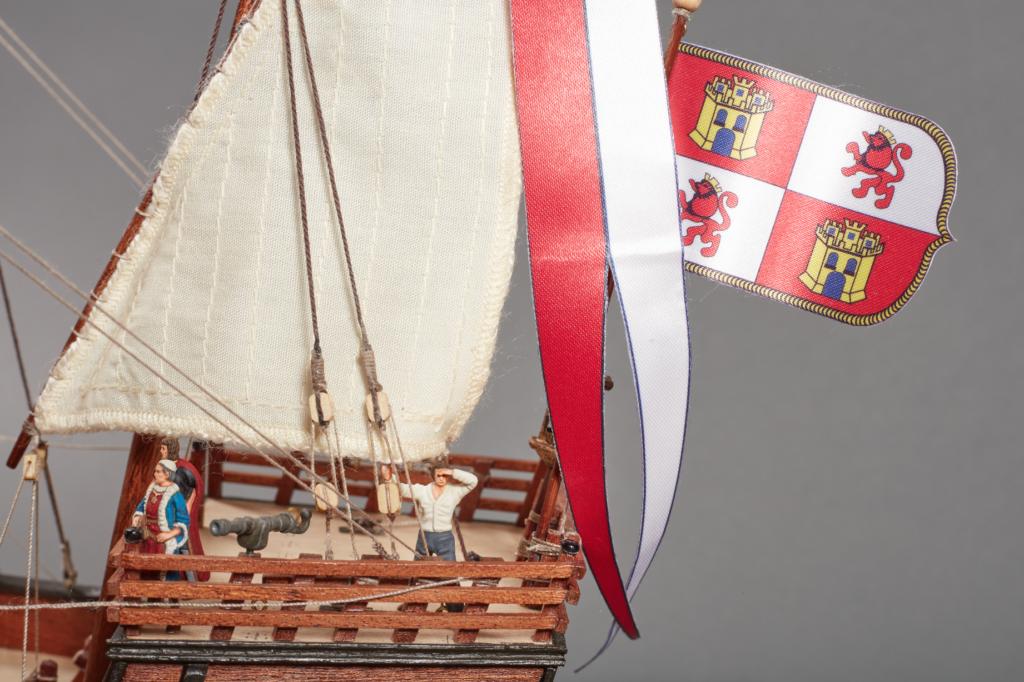 Accessoires pour modélisme naval. Set de 10 Figurines en Métal pour Caravelles et Galions