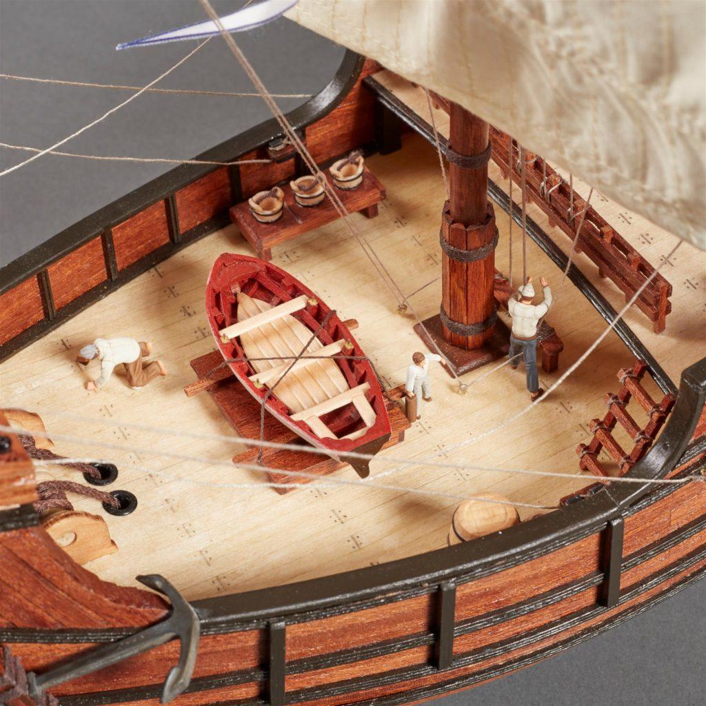 Accesorios Modelismo Naval. Set de 10 Figuras para Carabelas y Galeones (22411F).