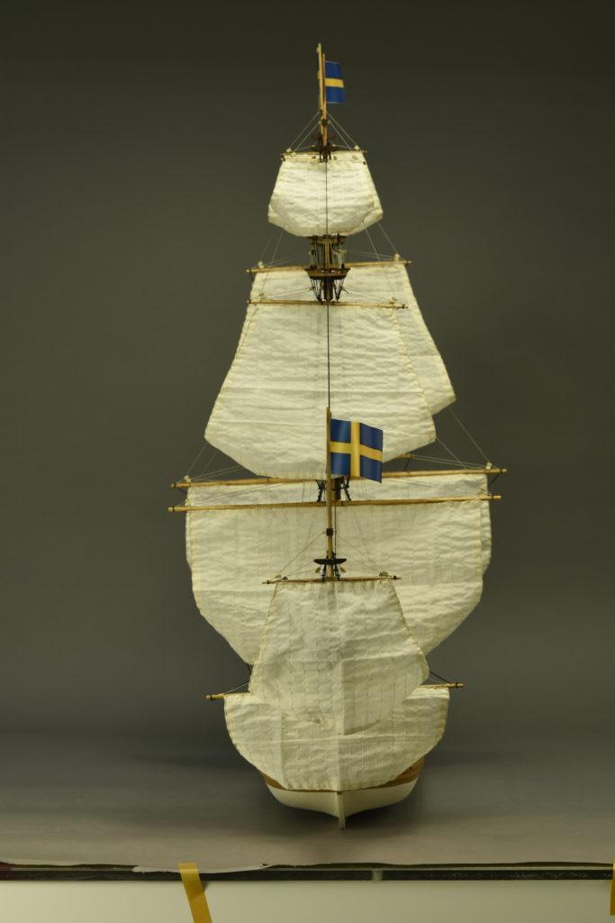 Modelismo naval. Maqueta en Madera Barco de Guerra Sueco Vasa 1/65