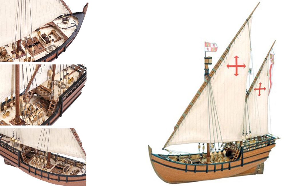 Ship Models Catalog. Models of historic Spanish ships.