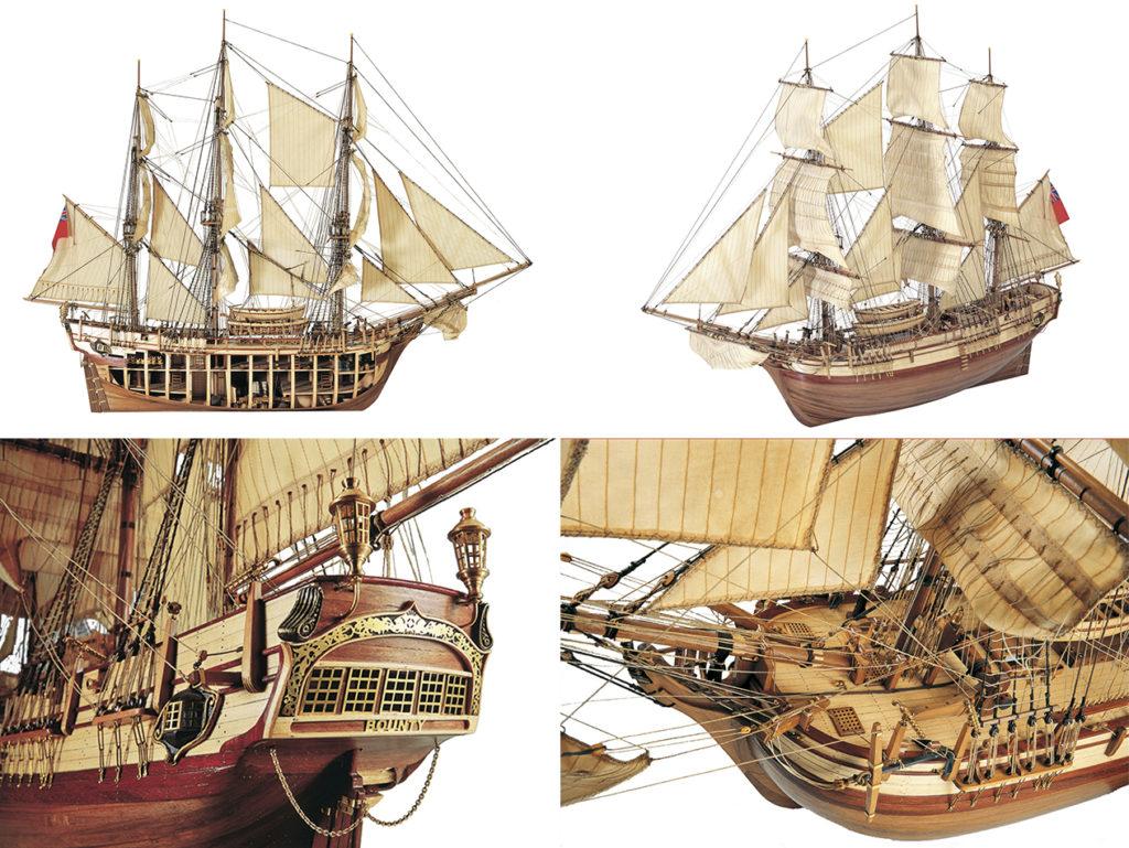 Ship Models Catalog. Models of historic British ships.