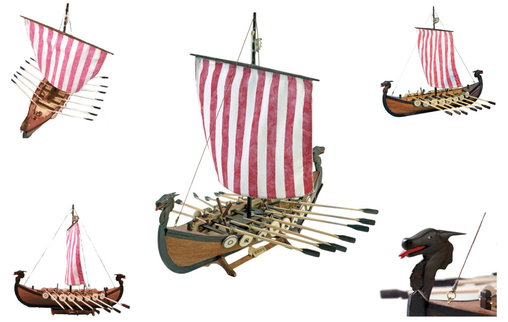 Ship Models Catalog. Models of historic Nordic ships.
