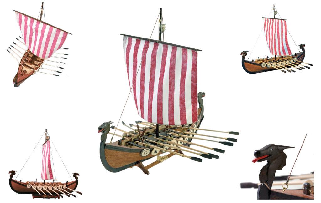 Initiation au Modélisme Naval: Maquette de Bateau en Bois Viking (19001N).