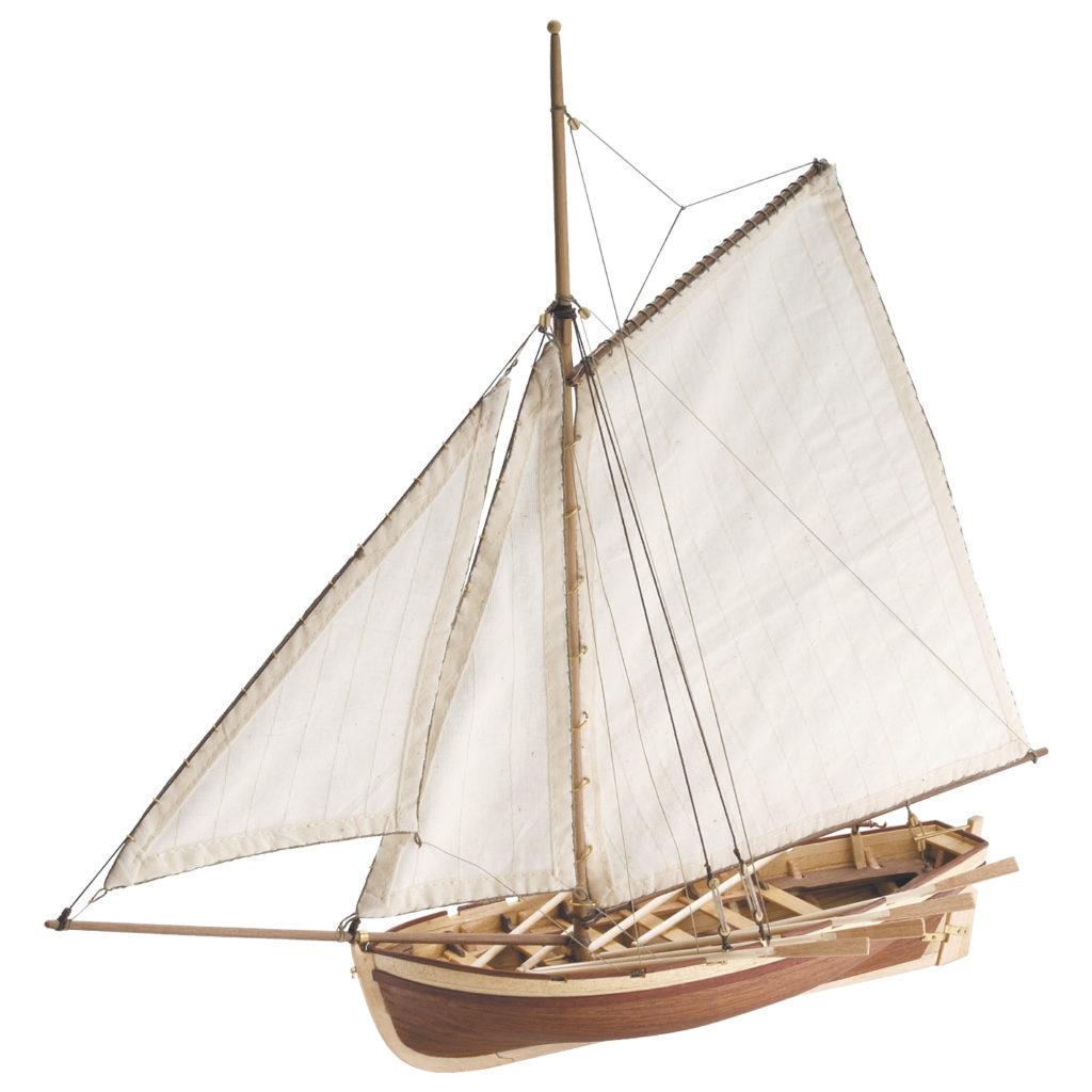 Initiation au Modélisme Naval: Maquette de Bateau en Bois Canot du Capitaine HMS Bounty (19004).