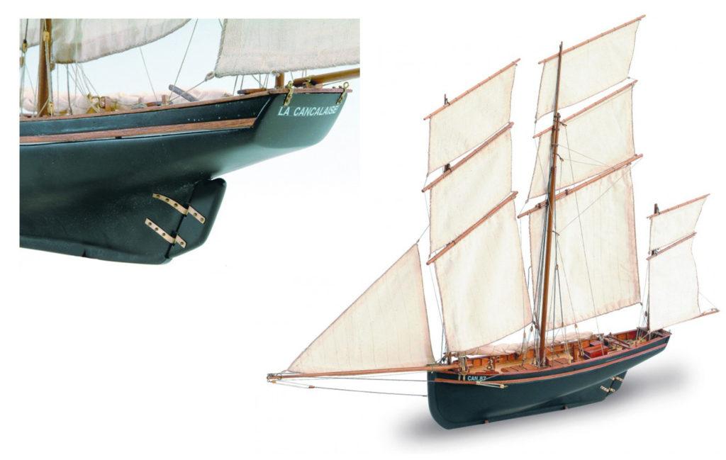 Modelismo Naval para Principiantes: Maqueta de Barco en Madera La Cancalaise (22190).