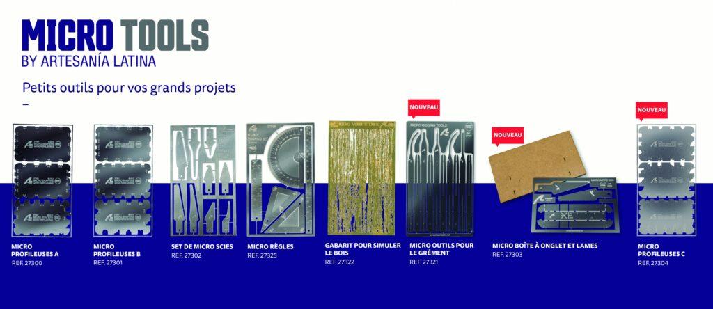 Micro Outils de Modélisme. Catalogue et Nouveautés de 2021.