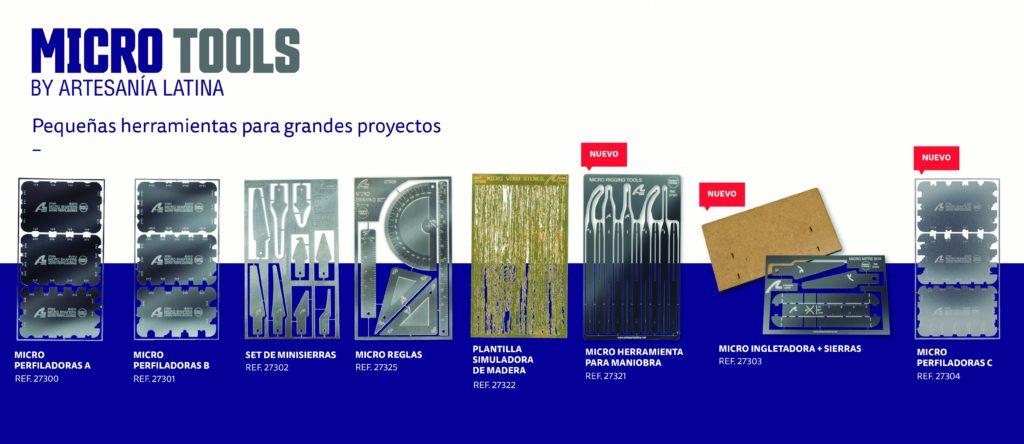 Micro Herramientas para Modelismo. Catálogo y Novedades 2021.