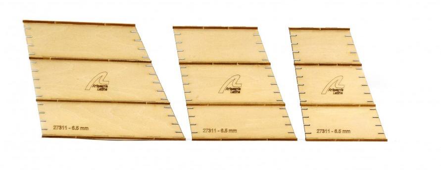 Micro Outils de Modélisme. Micro Gabarits pour Haubans 6,5 mm.